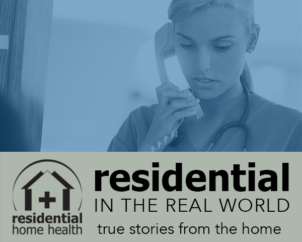 When Residential Home Health nurse Danielle heard her patient on the phone with a financial scammer, she sprang into action to expose the threat.