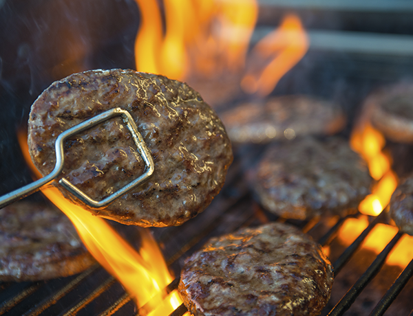 To celebrate the unofficial start of summer, get in the grilling spirit. These juicy, mouthwatering lean hamburgers are a high-protein summer treat.